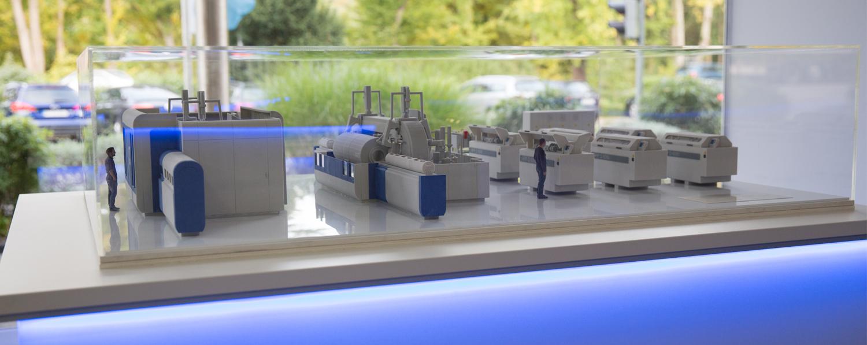 3D Druck Messemodell