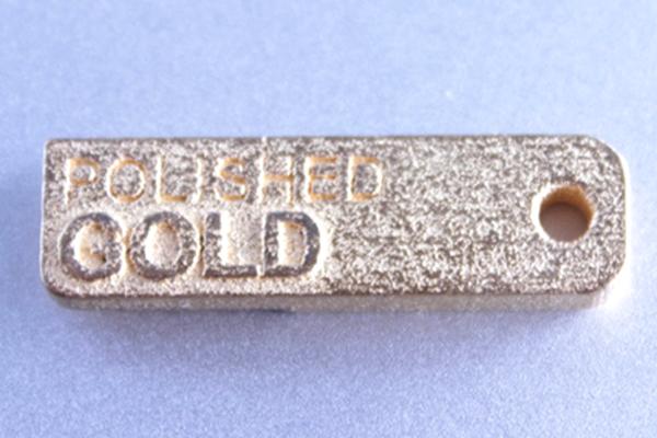 3D Druck in gold