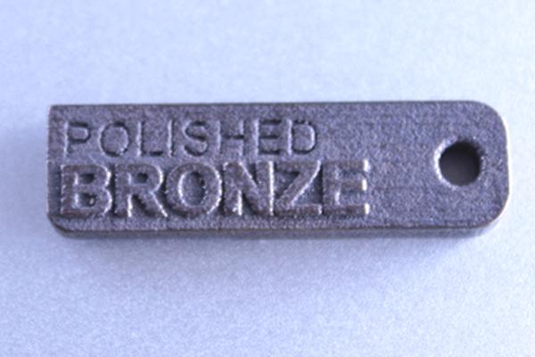 3d-druck Bronze