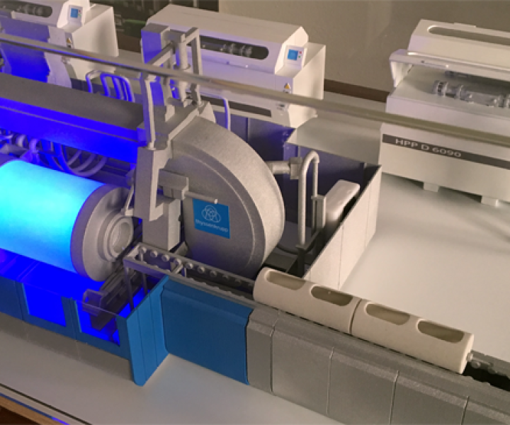 3D Druck Messemodell HPP ThyssenKrupp